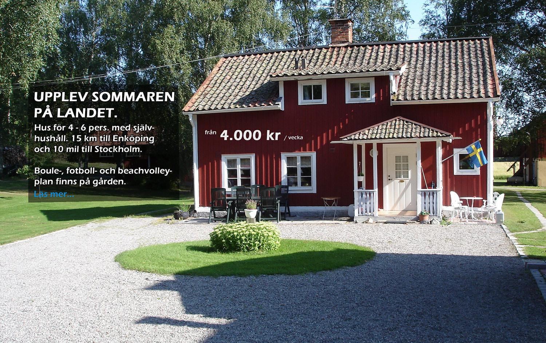 hyra hus på landet
